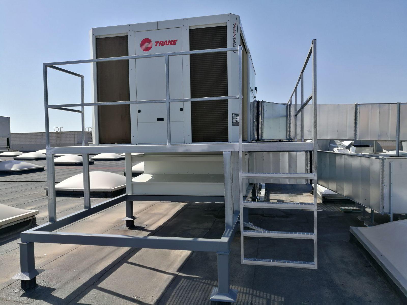 Climatización industrial Teruel
