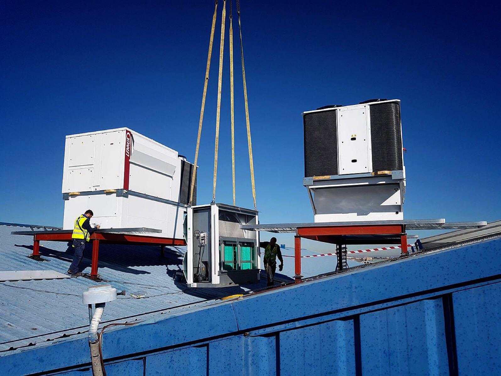Cómo refrigerar una nave industrial